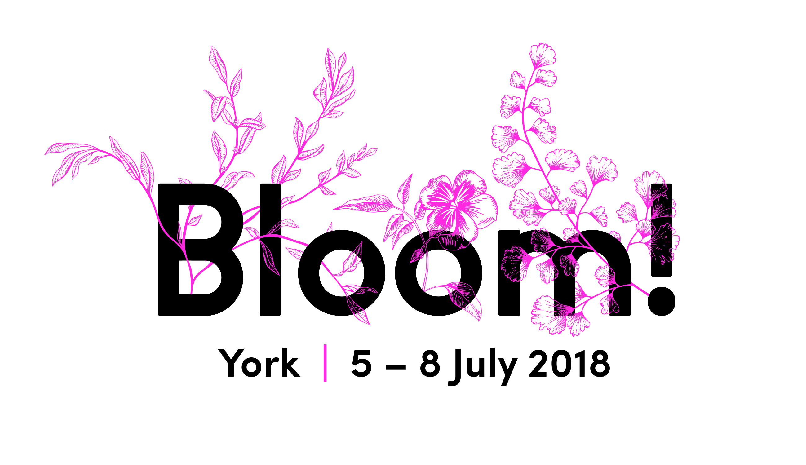 Bloom!18 Logo Tagline